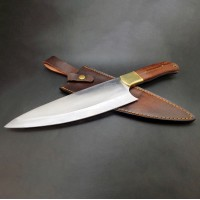 Big Chef - Stainless Steel with Wood Handle